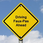 Top Driving Faux-Pas in Washington